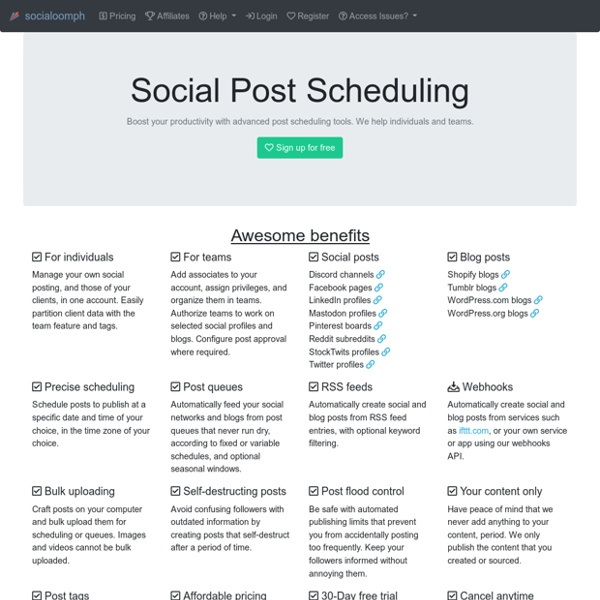 Tools to Boost Your Social Media Productivity