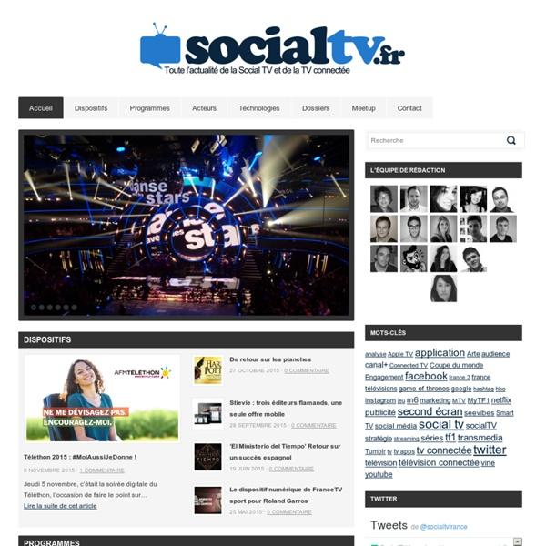 SocialTV.fr - TV Connectée, Social TV et Applications Tv