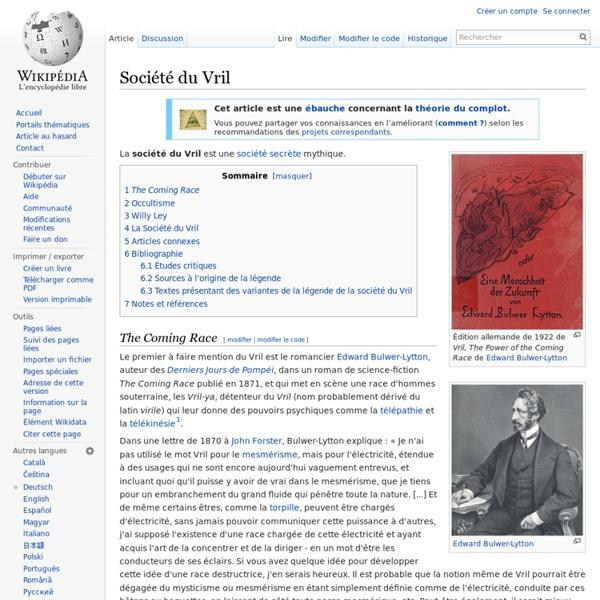 Société du Vril