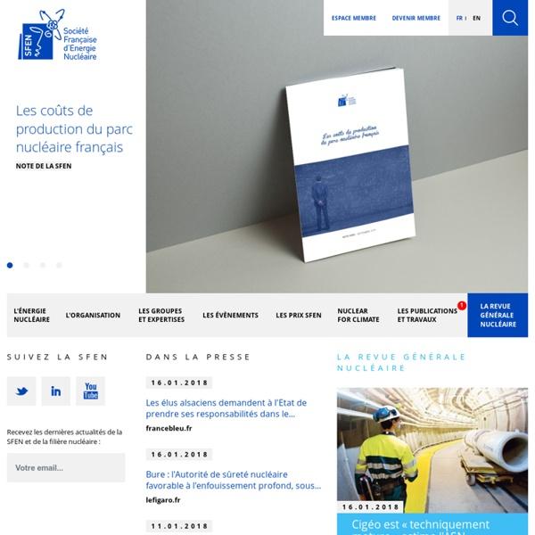 SFEN, Société Française d'Energie Nucléaire