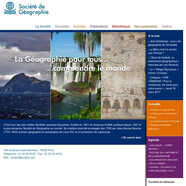 Société de Géographie, Paris, France
