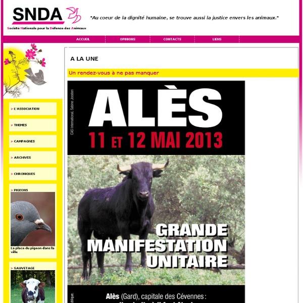 SNDA : la Société Nationale pour la Défense des Animaux