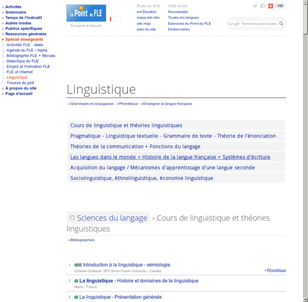 Sciences du langage - Linguistique - Communication - Sociolinguistique