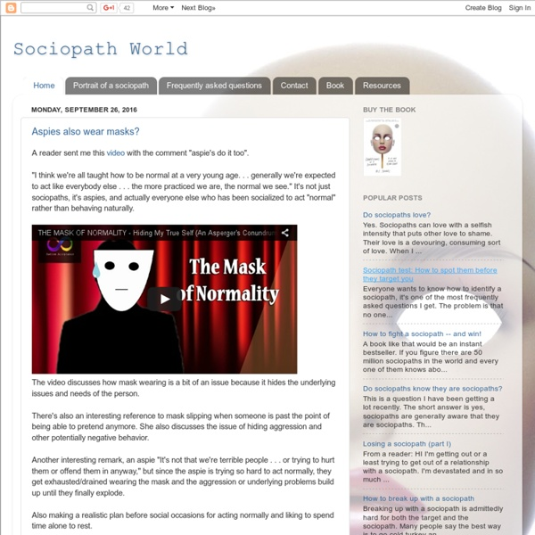SociopathWorld