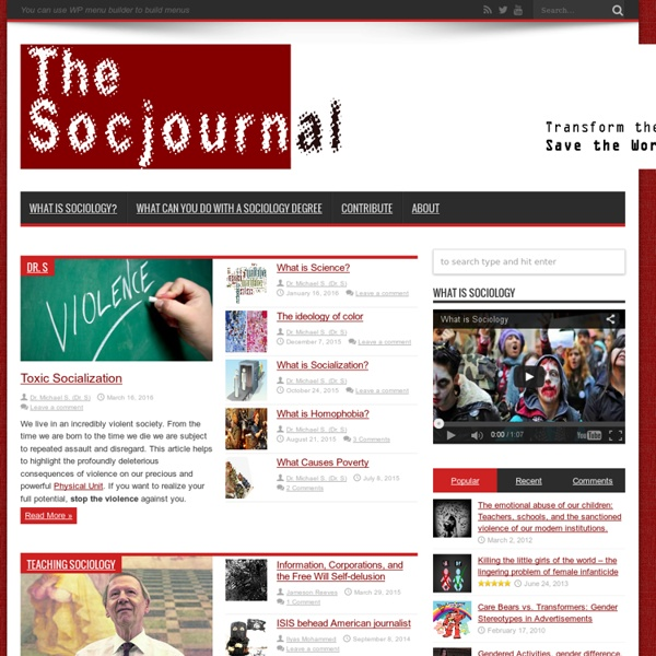 The Socjournal