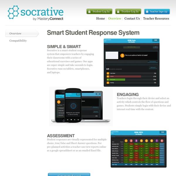 Socrative- tablet apps 4edu