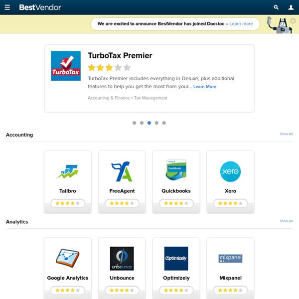 Best software and business apps - BestVendor