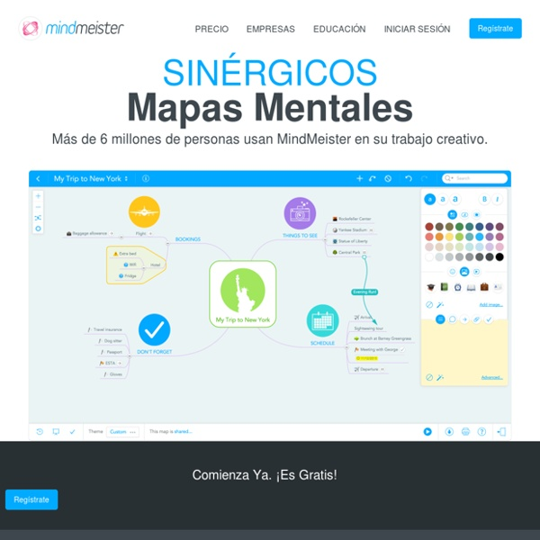 Software de Mapas Mentales: Genera Lluvias de Ideas en Línea
