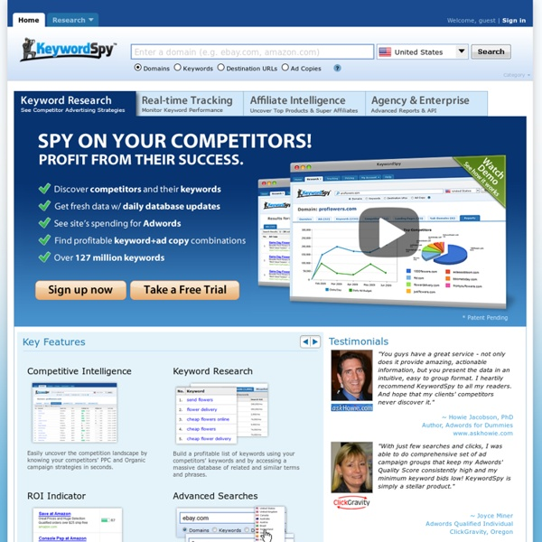 #1 Keyword Software & Keyword Tool for Keyword Research & Tracking