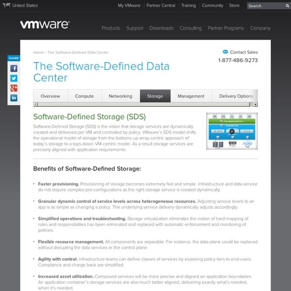 Software-Defined Storage (SDS) and Storage Virtualization