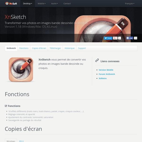 Software · XnSketch (Desktop version)