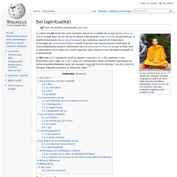 Soi (spiritualité)