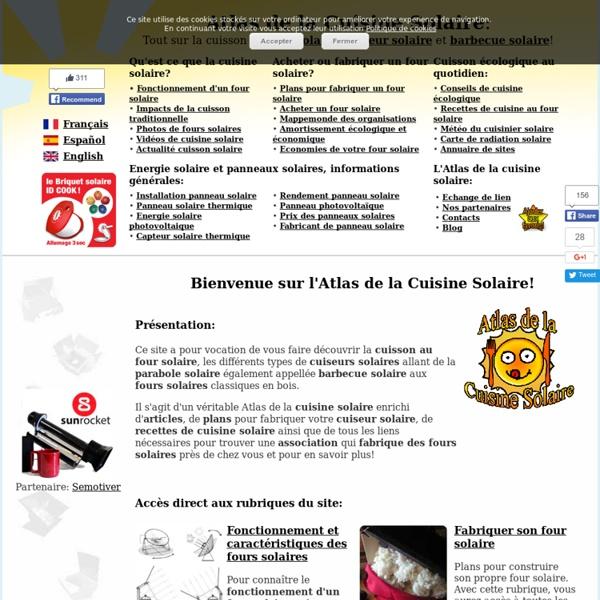 Four solaire et Cuiseur solaire - AtlasCuisineSolaire.com