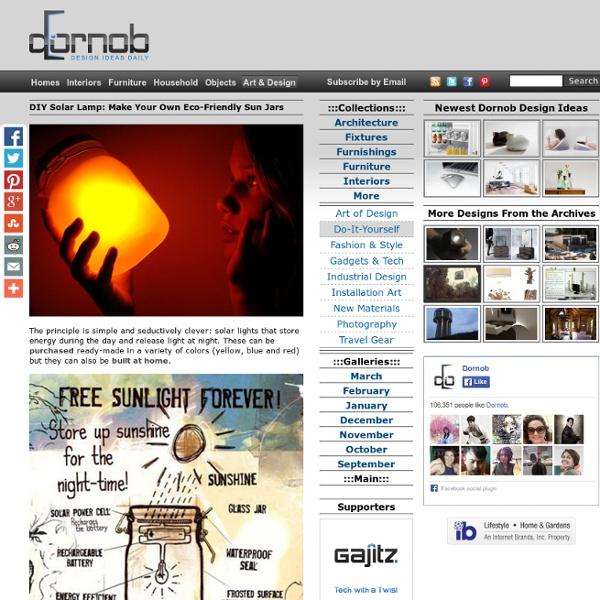 DIY Solar Lamp: Make Your Own Eco-Friendly Sun Jars
