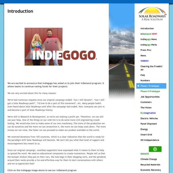 Solar Roadways - Introduction