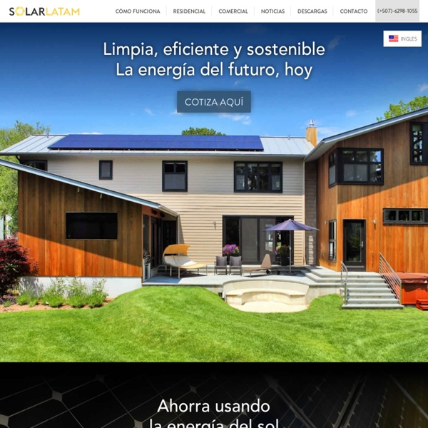 Paneles solares Panama