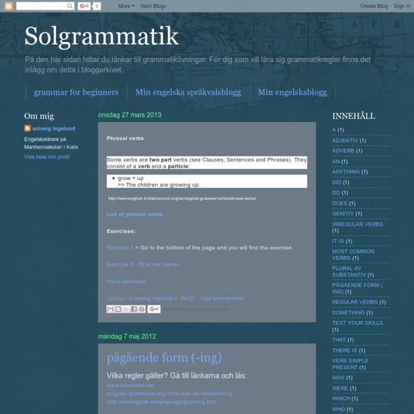 Solgrammatik