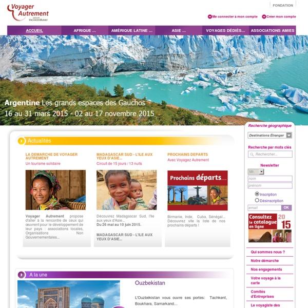 Tourisme solidaire et développement durable avec Voyager Autrement