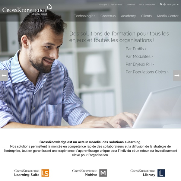 E-learning, LMS, solutions de formation à distance - CrossKnowledge elearning