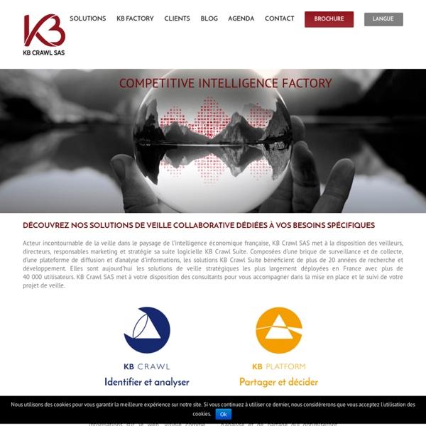 Les solutions de veille pour les professionnels - KB Crawl