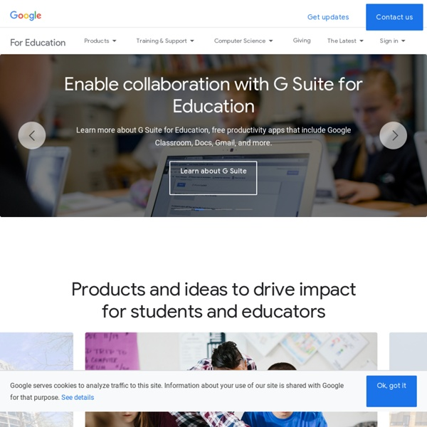 For Education: A solution built for teachers and students
