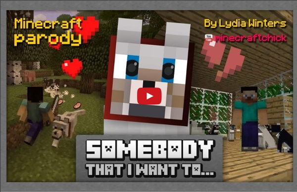 """Somebody that I Want to..."" Minecraft Parody of Gotye's Somebody that I Used to Know."""