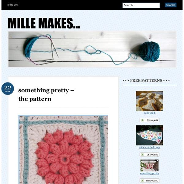 Something pretty – the pattern