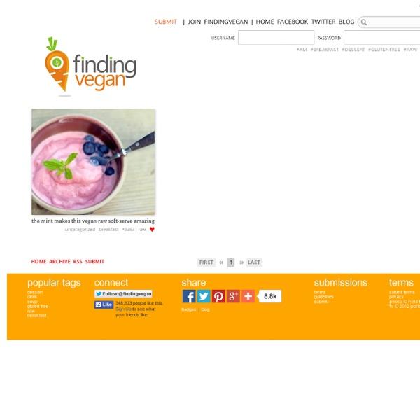 Finding Vegan