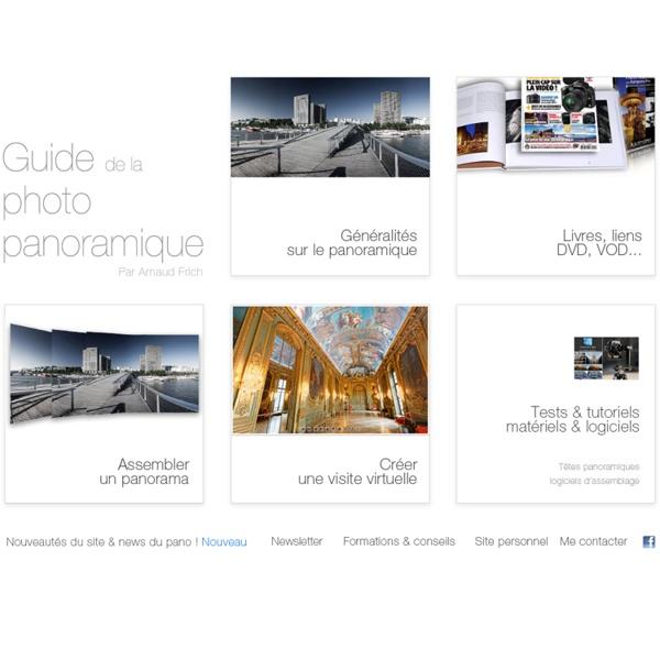 Sommaire du Guide de la photo panoramique