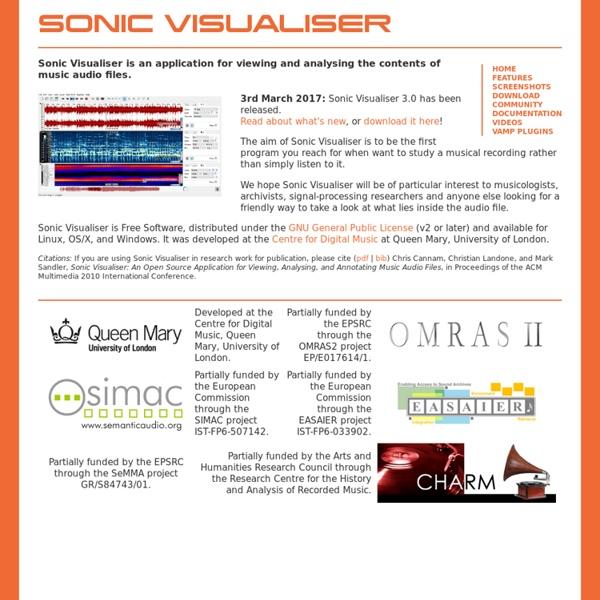 Sonic Visualiser