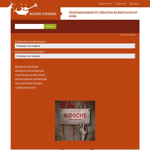 Sonothèque de bruitages et musiques d'illustration