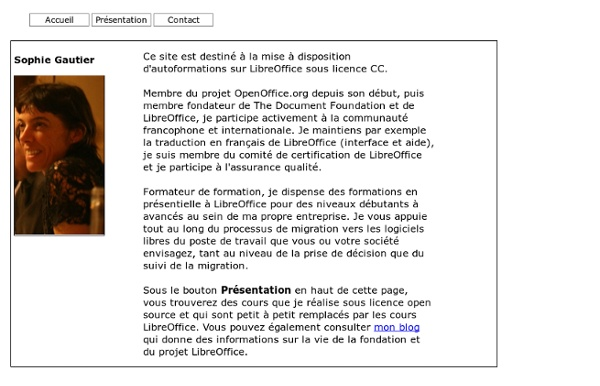 Cours Libre Office