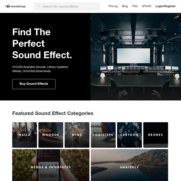 Sound Effects Download
