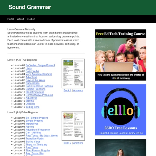 Sound Grammar - Learn English Naturally