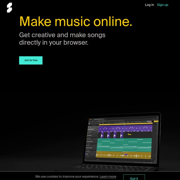 Soundation — Make music online