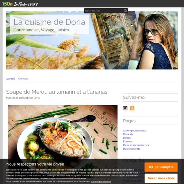 Soupe de mérou au tamarin et à l'ananas