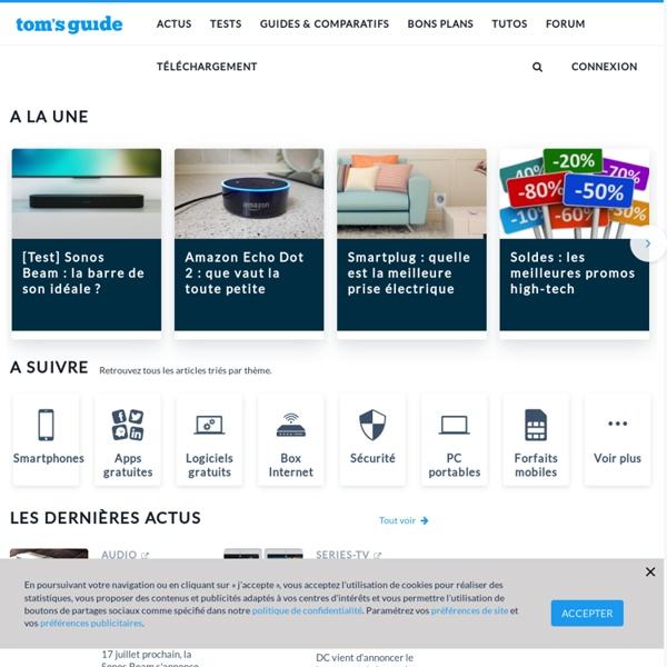 Tom's Guide : votre source d'information high-tech et logiciels