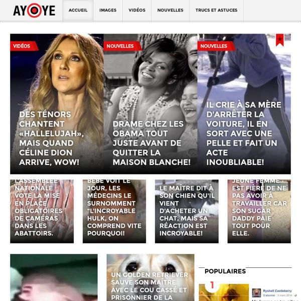 Ayoye.com - Vidéos virales, comiques et insolites