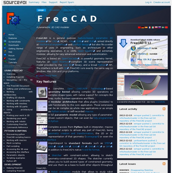 freecad sourceforge
