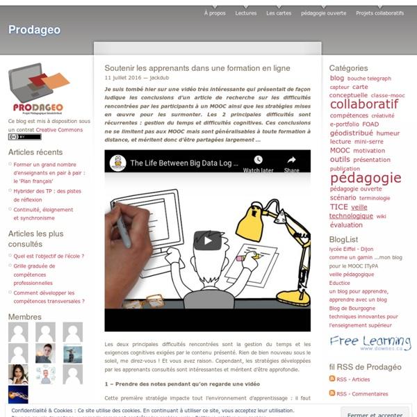 Soutenir les apprenants dans une formation en ligne
