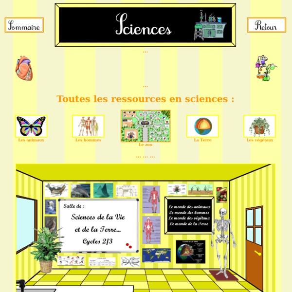 Soutien scolaire : Sciences
