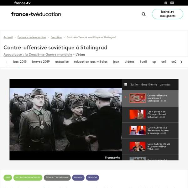 Contre-offensive soviétique à Stalingrad