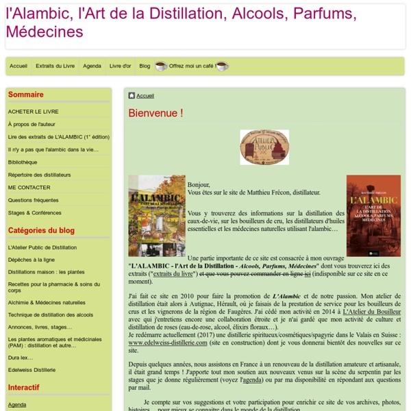 L'Atelier Public de Distillation de Matthieu Frécon, Bouilleur Ambulant dans le Languedoc. Distillation des eaux-de-vie de Bouilleurs de Cru, Huiles E