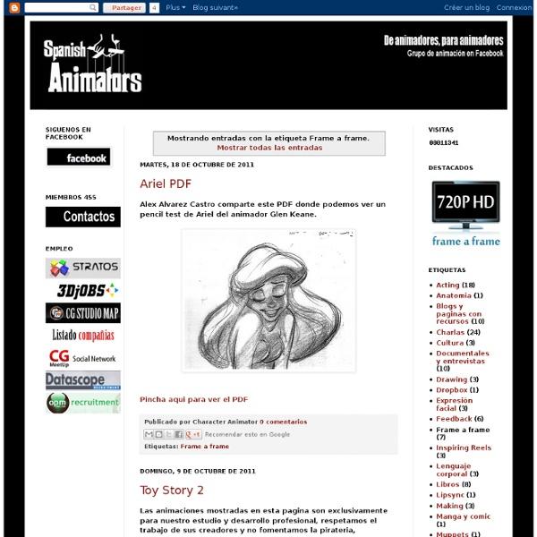 Spanish Animators: Frame a frame