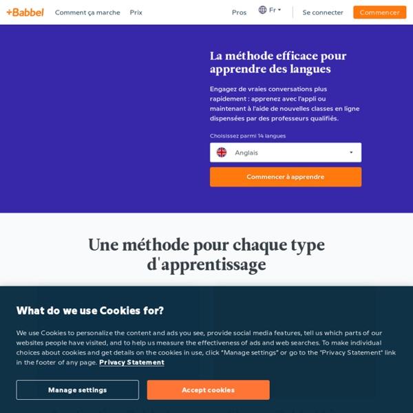 Aprende inglés, alemán y otros idiomas en línea - Babbel.com