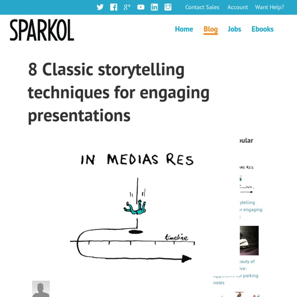8 Classic storytelling techniques for engaging presentations