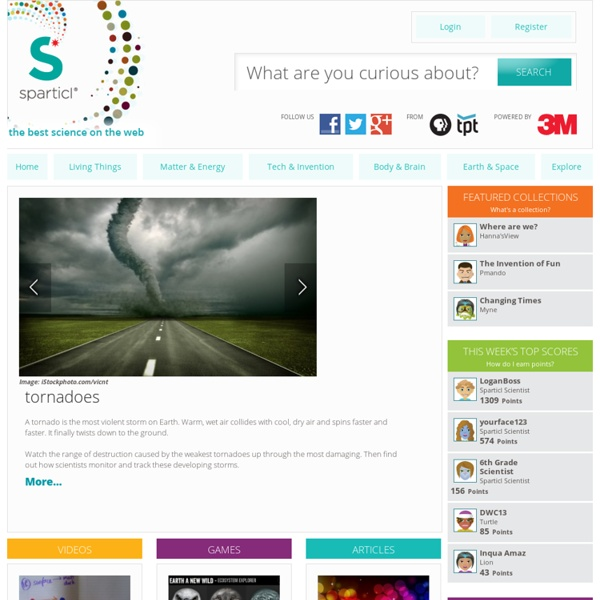 Sparticl Homepage