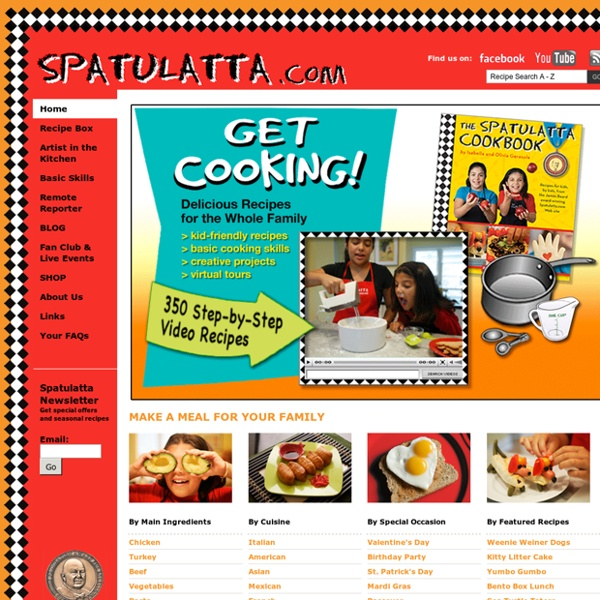 Spatulatta: Cooking 4 Kids Online