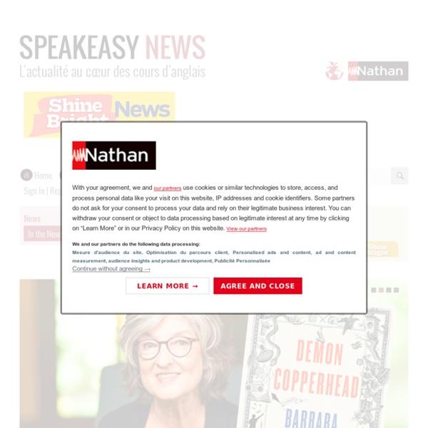 Speakeasy News – L'actualité au cœur des cours d'anglais