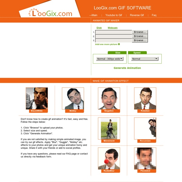 Animations d'images LooGix